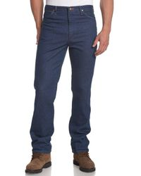 Wrangler Cowboy Cut Slim Fit Western Jean,trail Dust,36x34 - Black