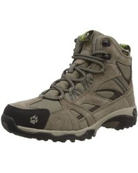 Jack Wolfskin Vojo Hike Mid Texapore Boot, Parrot Green, Us 10 D Us