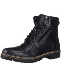 Steve Madden Juppiter Combat Boot - Black