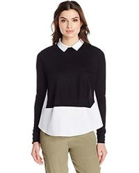 French Connection - Fresh Jersey Top - Lyst