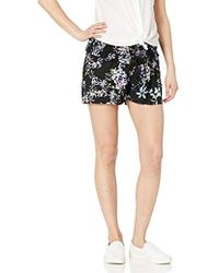 Jessica Simpson - Maternity Smock Waist Under Belly Soft Short With Tunneled Tie - Lyst