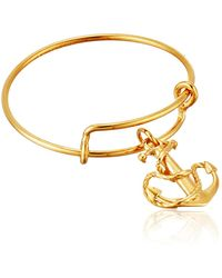 ALEX AND ANI Expandable Wire Ring - Metallic