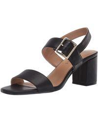 Aerosoles Jackson Heeled Sandal - Black
