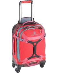 Eagle Creek Gear Warrior Carry Luggage Softside 4-wheel Rolling Suitcase - Blue