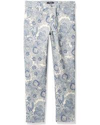 Nine West Gramercy Skinny Ankle Length Jean - Blue