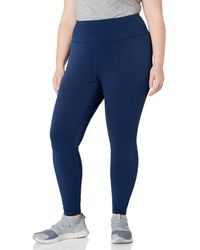 Amazon Essentials Plus Size Performance High-Rise Full-Length Legging Pants - Bleu