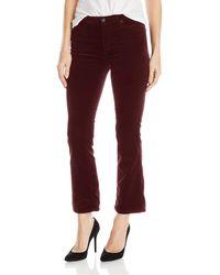 AG Jeans - Jodi Velvet Crop Jean - Lyst