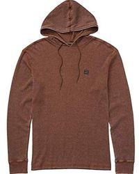 Billabong Keystone Pullover Hoodie - Brown