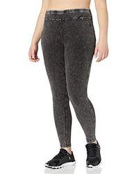 Plus Size Marc New York Performance Womens Indigo Wash Legging Jean