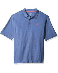 Izod - Advantage Performance Solid Polo (big Tall Slim) - Lyst