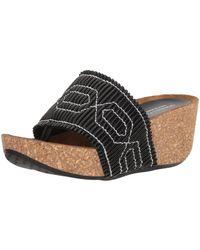 Donald J Pliner Gess Slide Sandal - Black