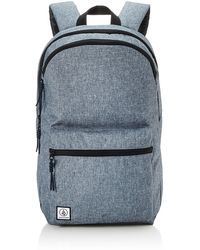 Volcom Academy Backpack Navy Heather One Size - Blue