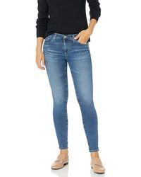AG Jeans Legging Super Skinny Fit Ankle Jean - Blue