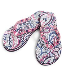 Vera Bradley Womens Sandal,gramercy Paisley,medium - Multicolor