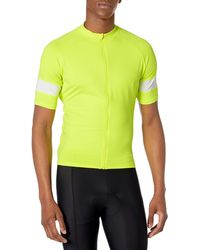 Amazon Essentials Short-sleeve Cycling Jersey Shirt - Yellow