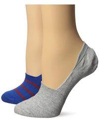 Keds - 2 Pack Print Sneaker Liner Socks - Lyst