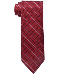 Izod Core Grid Tie - Red