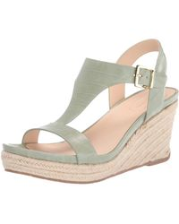 Kenneth Cole Reaction T-strap Wedge - Green
