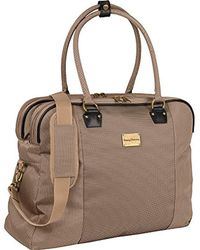 Tommy Bahama - Haven 20 Inch Boarding Bag, Champagne/navy - Lyst