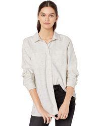 Heavyweight Flannel Two-Pocket Relaxed Shirt Dress-Shirts Donna Goodthreads