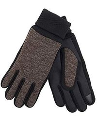 Levi's - Jersey Touchscreen Gloves With Stretch Fabric Grip, Brown Extra Large - Lyst