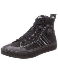 DIESEL S-astico Lace W-sneaker Mid - Black