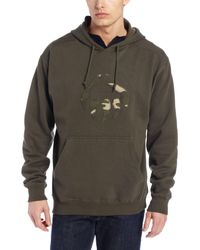 Wolverine Mens Graphic Camo Claw Hooded Sweatshirt
