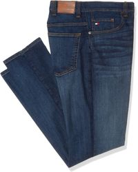 Tommy Hilfiger Big And Tall Jeans Relaxed Fit - Blue