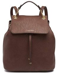 Calvin Klein Sonoma Novelty Backpack - Brown