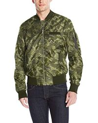 Members Only - Ma-1 Bomber Jacket - Lyst