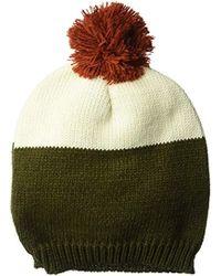 Wigwam - Taso Knit Beanie Acrylic Pom Hat - Lyst