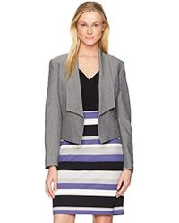Nine West - Fly Away Jacket With Lapels - Lyst