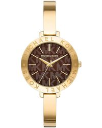 Michael Kors Jaryn Mercer Three-hand Stainless Steel Watch Gold One - Metallic