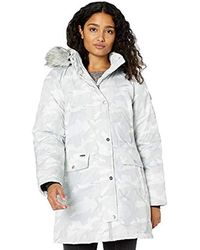 Skechers - Warm Winter Coat With Faux-trimmed Hood - Lyst