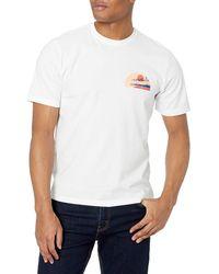 Izod Saltwater Short Sleeve Graphic T-shirt - White