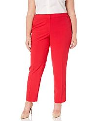 e343147dd17392 Nine West Jessica Power Stretch Jegging in Red - Lyst