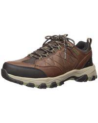 Skechers Selmen-helson Trail Oxford Hiking Shoe - Brown