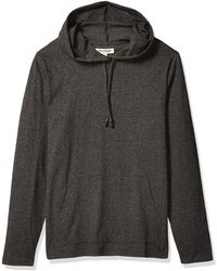Goodthreads Soft Cotton Long-sleeve Pullover Hoodie - Gray