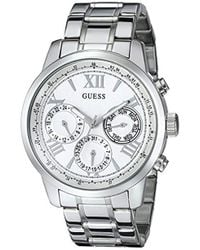 Guess - Stainless Steel Classic Bracelet Watch - Lyst