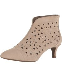Rockport Total Motion Kalila Perf Shootie Fashion Boot - Natural
