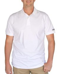 Caterpillar Big And Tall Big & Tall Classic Cotton Polo Shirt - White