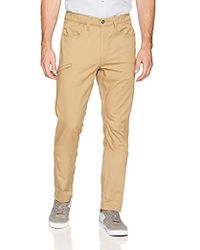 Signature by Levi Strauss & Co. Gold Label Taper Scout Pant - Natural