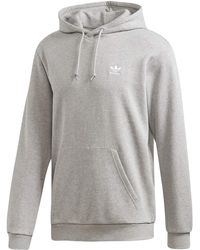 adidas Originals Essential Hoodie Sweatshirt - Gray