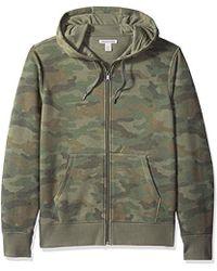 Amazon Essentials - Full-zip Hooded Fleece Sweatshirt - Lyst