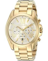 Michael Kors - Bradshaw Gold-tone Watch Mk6266 - Lyst