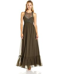 Twelfth Street Cynthia Vincent - Maxi Dress With Front Embelishment - Lyst