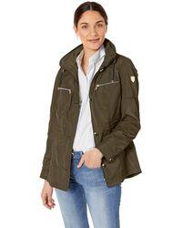 Vince Camuto Spring Gold Jacket Coat - Green