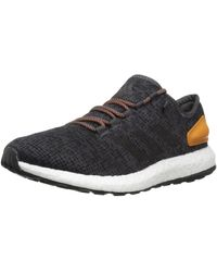 adidas Pure Boost Running Shoes - Black