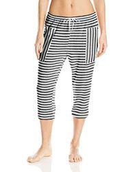 Kensie - Clam Digger Pajama Pant - Lyst