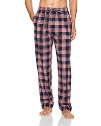 Ben Sherman Flannel Lounge Pant - Red